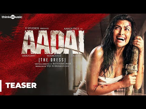 aadai---tamil-official-teaser-|-amala-paul-|-rathnakumar-|-pradeep-kumar,-oorka-|-v-studios-|-4k