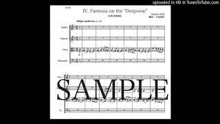 ホルスト「ダーガソン〜第2組曲」弦楽四重奏版(編曲:中島雅彦) thumbnail