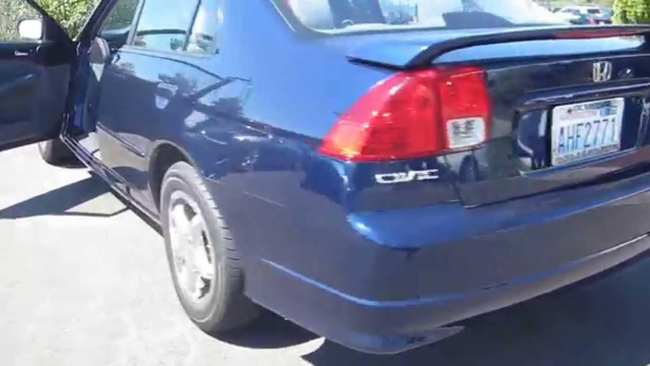2005 Honda Civic Eternal Blue Pearl Stock H7421a Walk Around