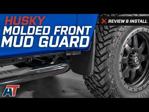 Husky Liners Front Custom Mud Guards 58441 Black
