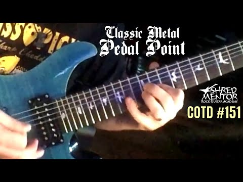 Classic Metal Pedal Point | ShredMentor Challenge of the Day #151