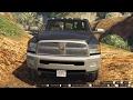 GTA 5 2010 Dodge Ram 3500 & PJ Gooseneck trailer