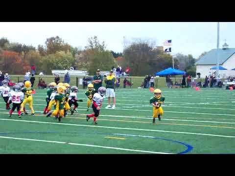 Jarrettsville Hawks 5-6 #57 Nicholas Steele...Run