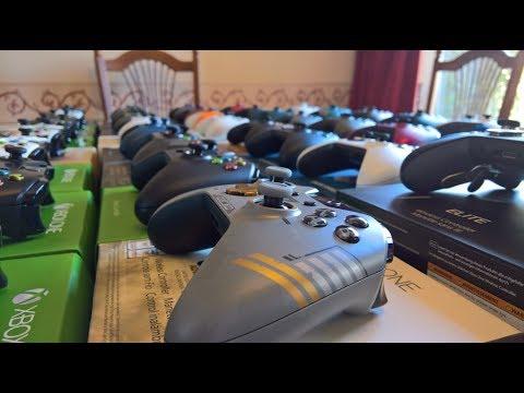 Youtube-пользователь показал впечатляющую коллекцию геймпадов для Xbox One
