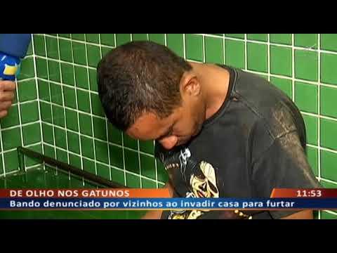 DF ALERTA - Bando denunciado por vizinhos ao invadir casa para furtar