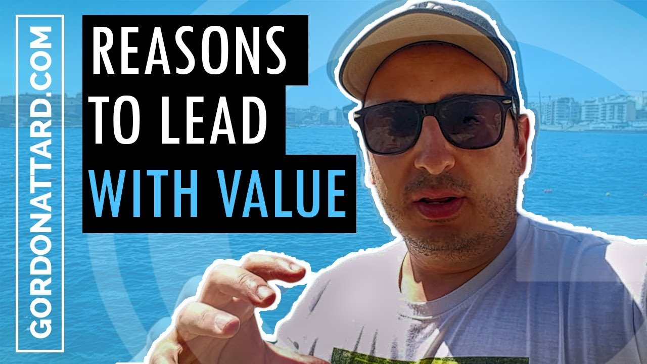 Top Reasons Why You Should Give Value First!