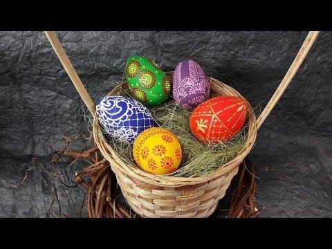Роспись Пасхальных яиц!