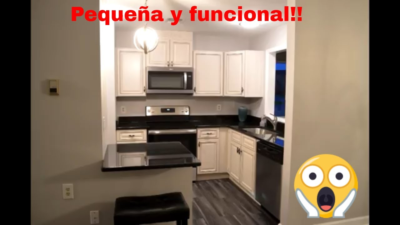 Cocinas peque as ideas para remodelacion youtube - Ideas para colgar trapos de cocina ...