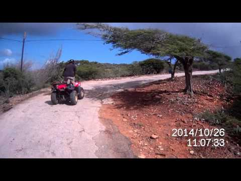 20141126 - Kini Kini ATV Tours Aruba - 5 - Gold Smelter to Natural Pool