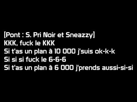 Sneazzy - Okkk (paroles)