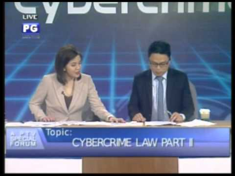 Part 3: Anti-Cybercrime Law Part II - PTV Special Forum [Oct