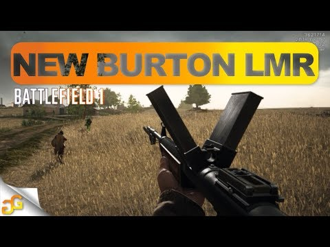 BF1 NEW BURTON LMR GAMEPLAY - Silenced M1911 In June Patch Battlefield 1