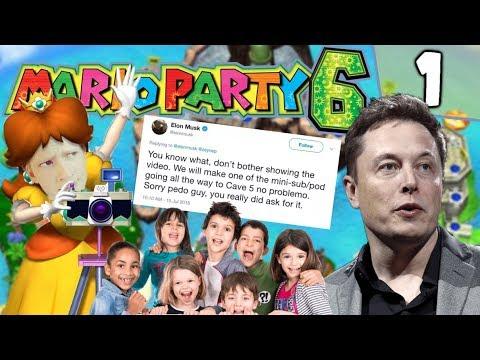 Houdt Elon Musk van kinderen? - Mario Party 6 #1