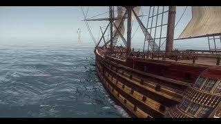 Total war: Napoleon - Битва линейных кораблей.
