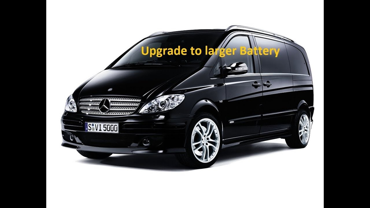 maxresdefault mercedes w639 vito van viano remove battery upgrade change battery mercedes viano w639 fuse box location at couponss.co