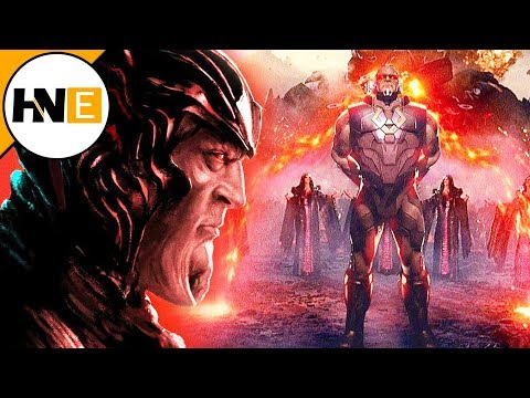 Zack Snyder Reveals ORIGINAL Justice League Ending with Darkseid