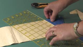 Template-free Kaleidoscope Puzzle Quilts Part 2: On-point