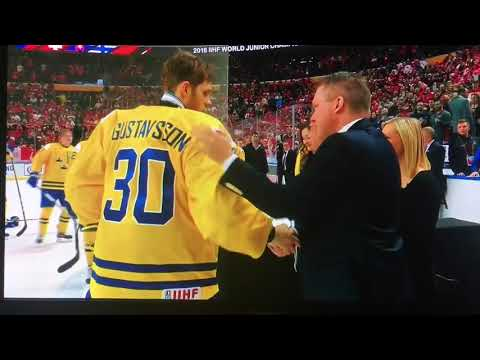 Swedish Captain Throws Silver Medal into Crowd