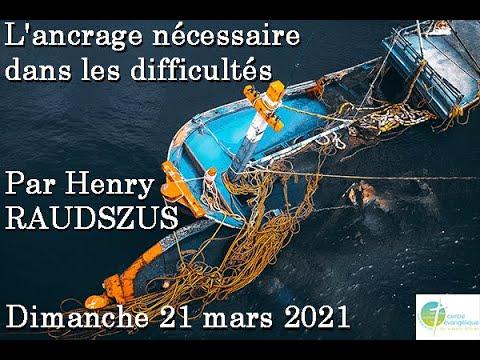 Culte du 21 mars 2021 adD du Creusot avec Henry Raudszus