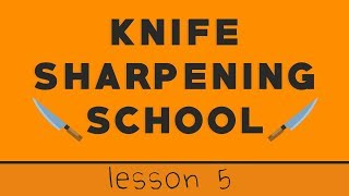 Lesson 5: How To Sharpen Single Bevel Traditional Japanese Knives