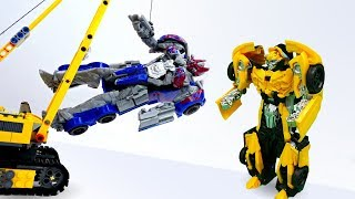 Видео Трансформеры игрушки и Тоботы все серии подряд - Доктор Ой.