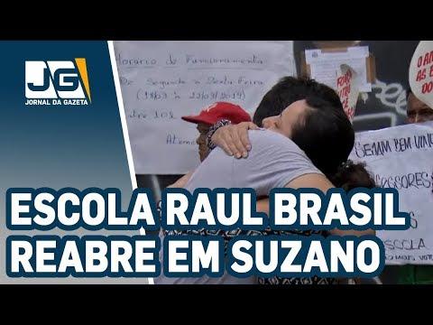Escola Raul Brasil reabre em Suzano