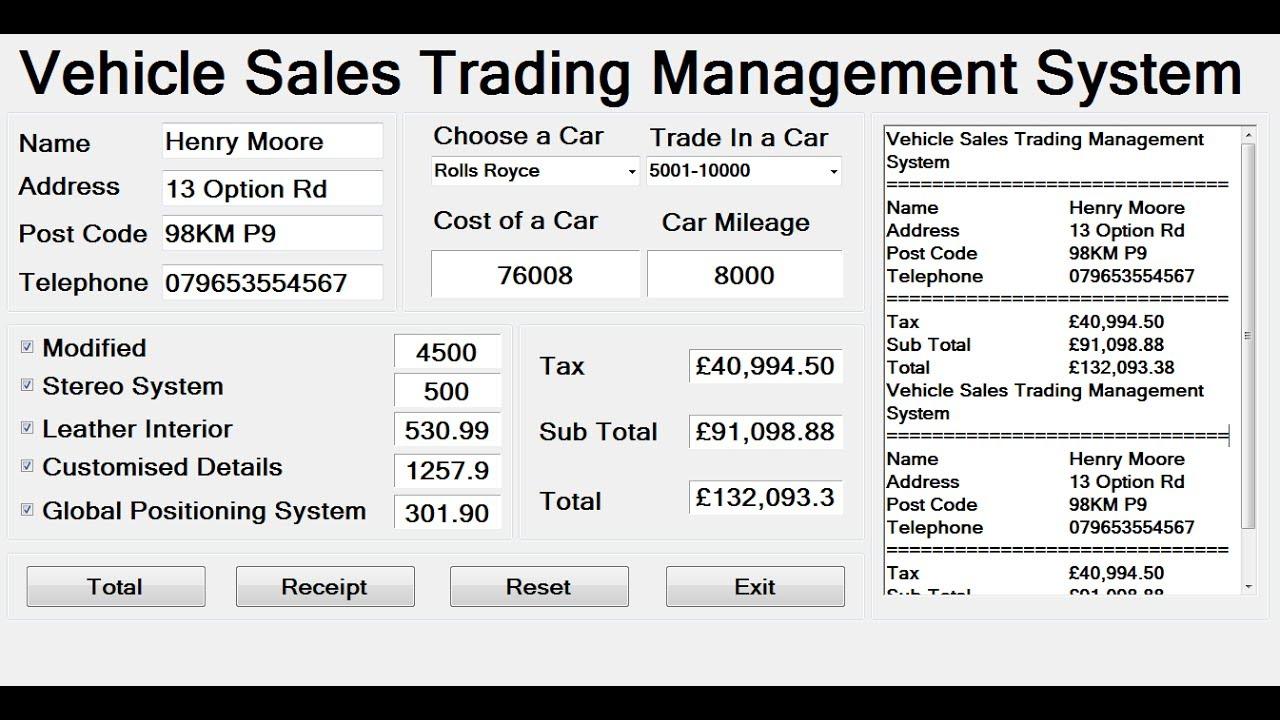 R language trading system