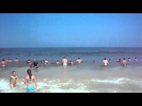 Bethany Beach @ High Tide, July 2011
