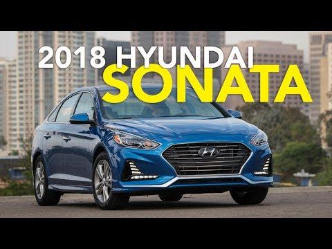 2018 Hyundai Sonata Review   First Drive