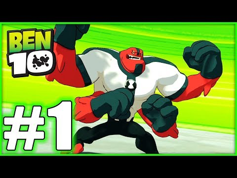 BEN 10 Gameplay Walkthrough - Part 1- FOUR ARMS! (HD With Blitzwinger)