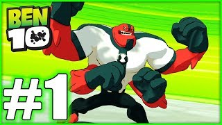 BEN 10 Gameplay Walkthrough - Part 1- FOUR ARMS! (HD With Blitzwinger)