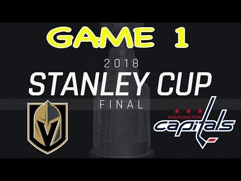 2018 Stanley Cup Championship Game 1 Las Vegas Golden Knights vs Washington Capitals