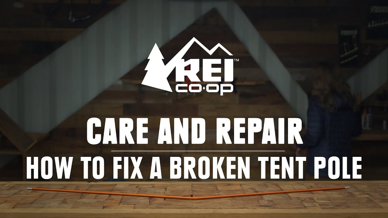 How to Fix a Broken Tent Pole || REI  sc 1 st  YouTube & How to Fix a Broken Tent Pole || REI - YouTube