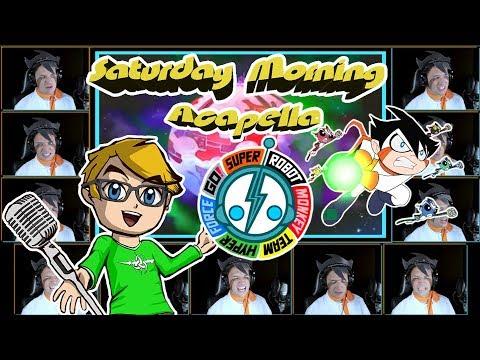Super Robot Monkey Team Hyper Force Go! Theme SRMTHFG - Saturday Morning Acapella