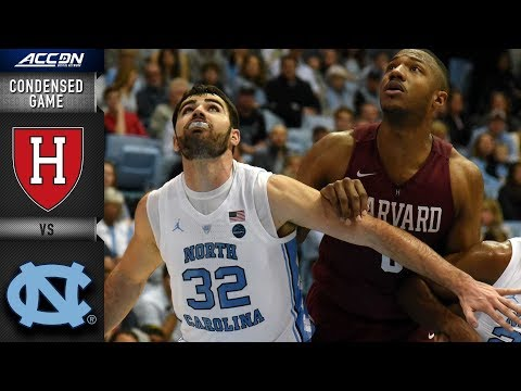 Harvard vs. North Carolina Condensed Game | 2018-19 ACC Basketball