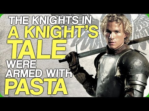The Knights in A Knight's Tale Were Armed With Pasta (Big Actors in Earlier Roles)