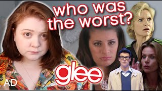 was mr schue really the worst on glee? AD