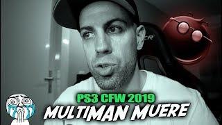 multiMAN Web puede decir adiós en 2019   Triste para PS3 CFW