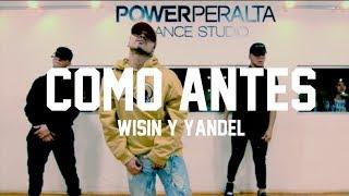 Yandel Como Antes feat Wisin Choreography by Seba Carre