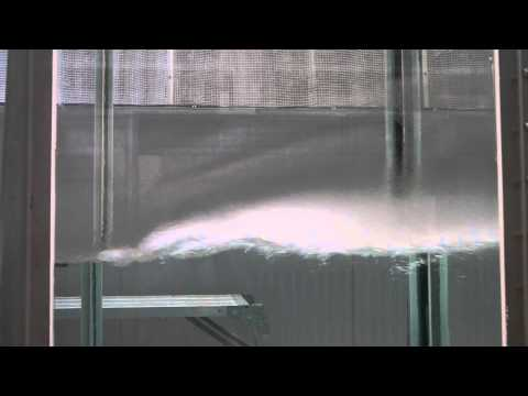 High speed wind/wave tank of Kyoto University - First meter