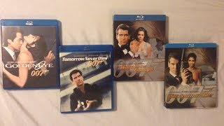 Pierce Brosnan James Bond Movies (1995-2002) - Blu Ray Discussion Review