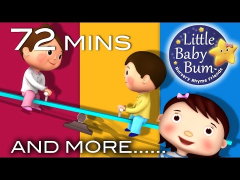 See Saw Margery Daw | Plus Lots More Nursery Rhymes | 72 Minutes Compilation from LittleBabyBum!