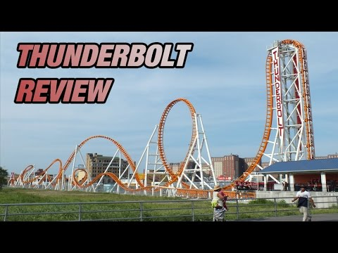 Thunderbolt COASTER REVIEW ; Luna Park , Brooklyn , New York