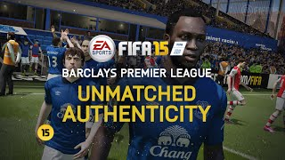FIFA 15 | New Player Faces & Stadiums | Barclays Premier League
