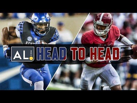 Head To Head: Alabama vs. Kentucky prediction