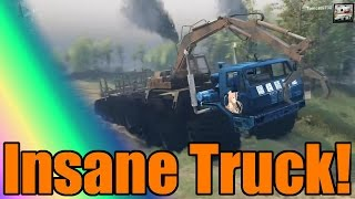 Spin Tires | CRAZIEST TRUCK EVER!!