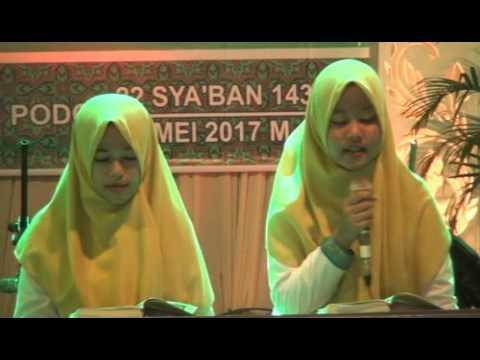 Khataman Putri Ahkhir sanah PP Nurul Quran Podo 2017