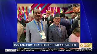 LS Speaker Om Birla represents India at 141st IPU