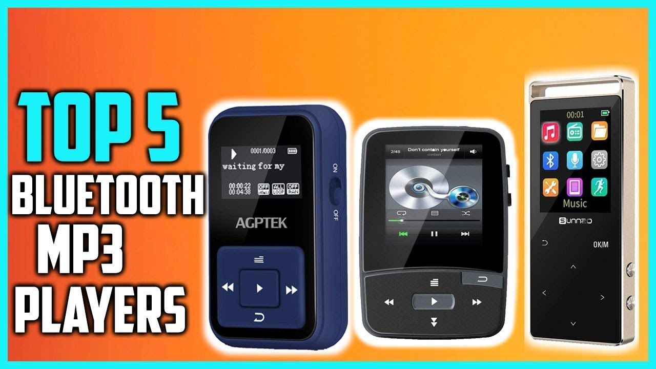 Top 5 Best Bluetooth Mp3 Players In 2018 - YouTube