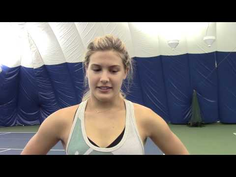 Genie Bouchard: If my racquet could talk...